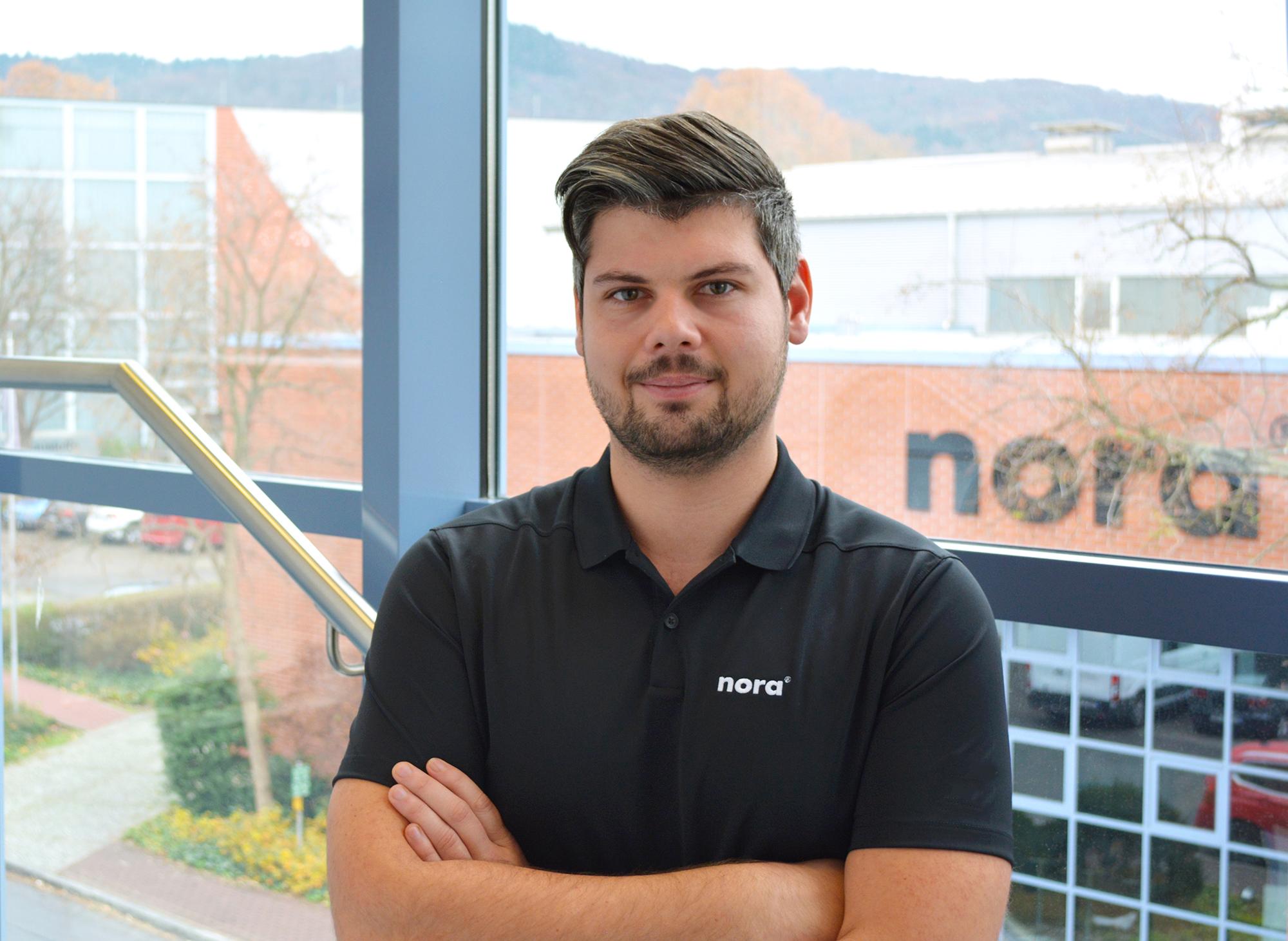 Mitarbeiter im Außendienst der nora systems GmbH Stephan Bier