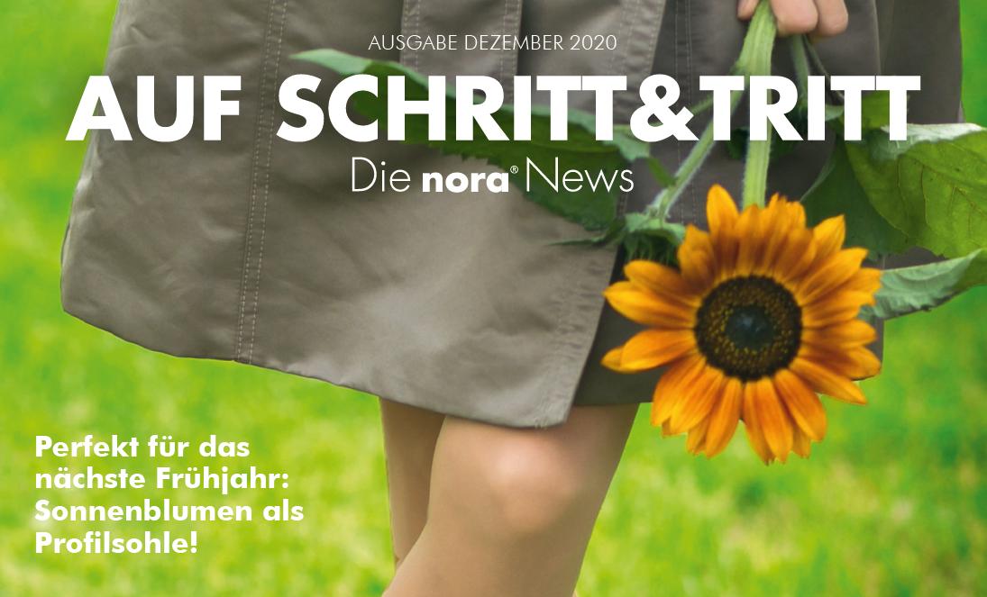 nora Kundenzeitschrift Auf Schritt und Tritt