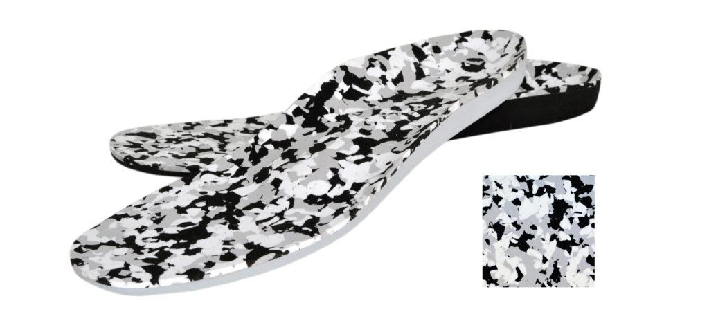 nora Lunasoft SL camouflage als Abdeckung auf Einlagen