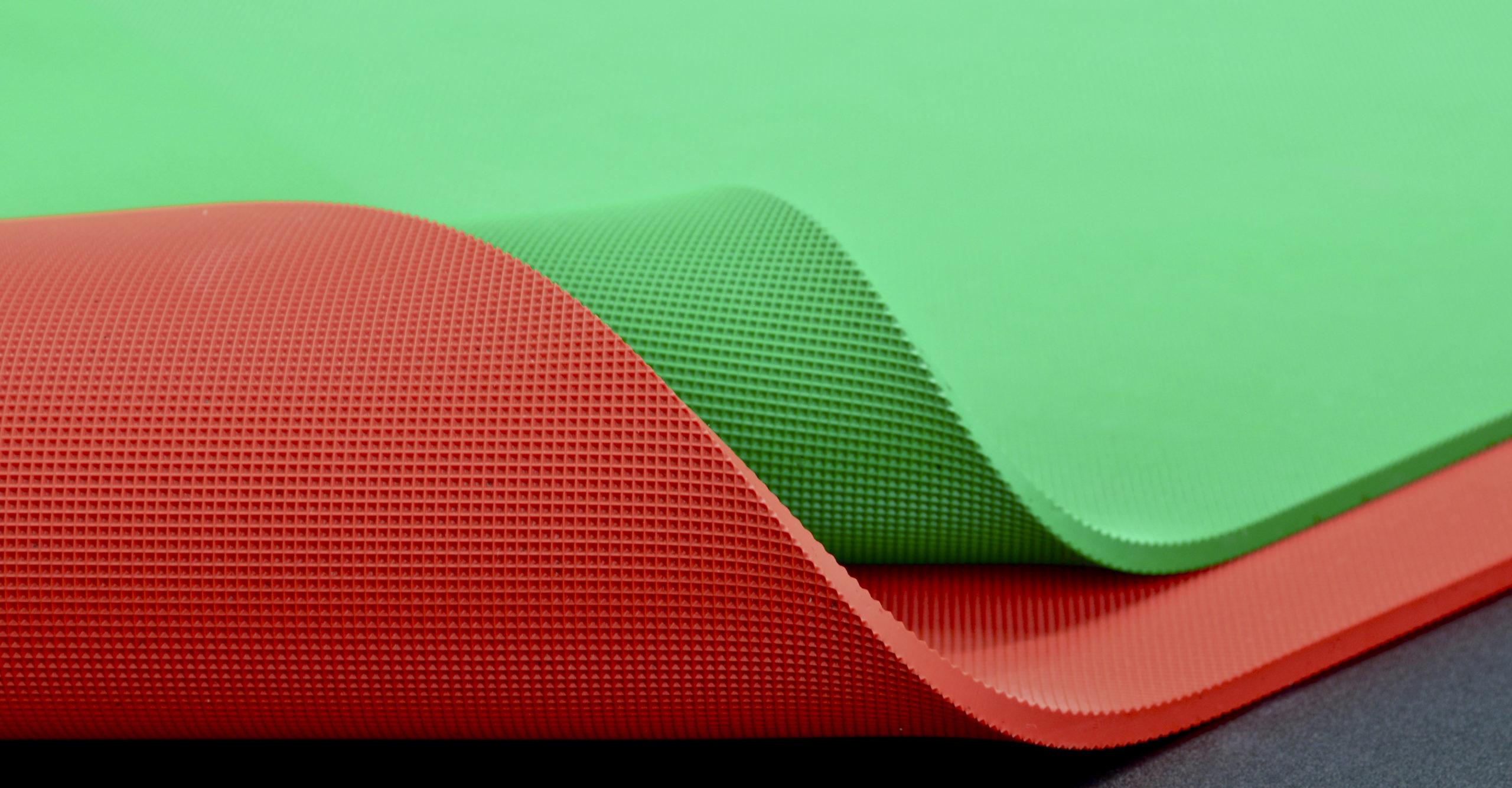 Schockabsorber aus Gummi: nora Supersorb und Orthosorb